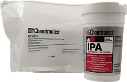 What Are the Packaging Options for Chemtronics Isopropyl Alcohol (IPA) Wipes?