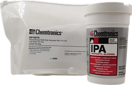 Picture of What Are the Packaging Options for Chemtronics Isopropyl Alcohol (IPA) Wipes?